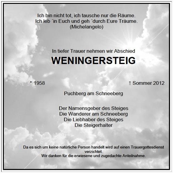 Weningersteig