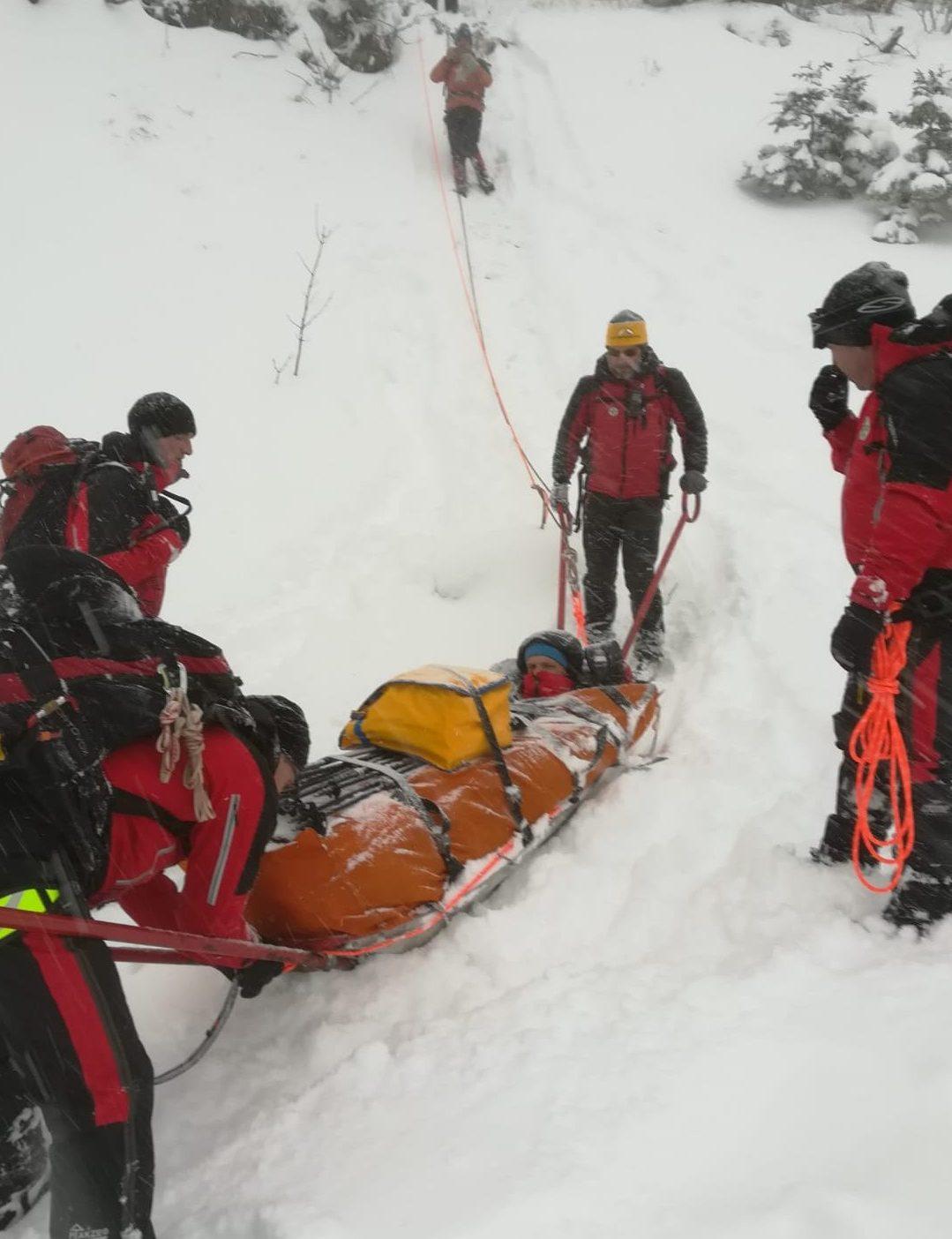 Winterübung und zwei Einsätze 3