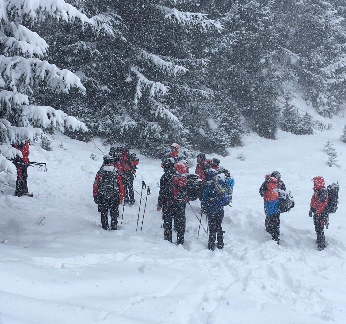 Winterübung und zwei Einsätze 2