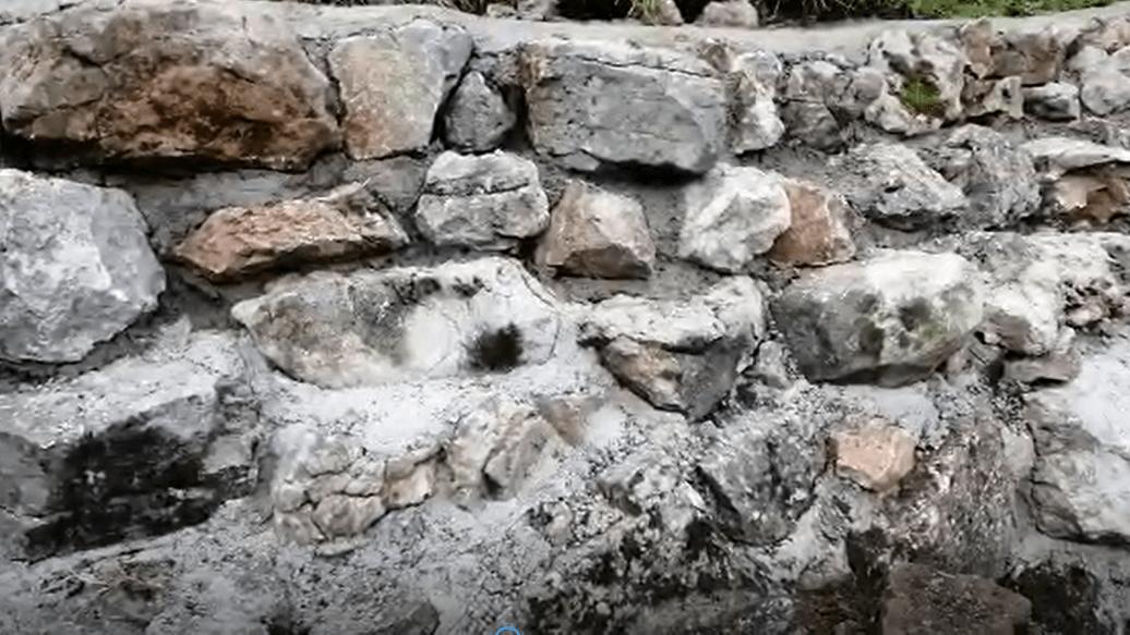 Neue Stützmauer für die Bürklehütte 3