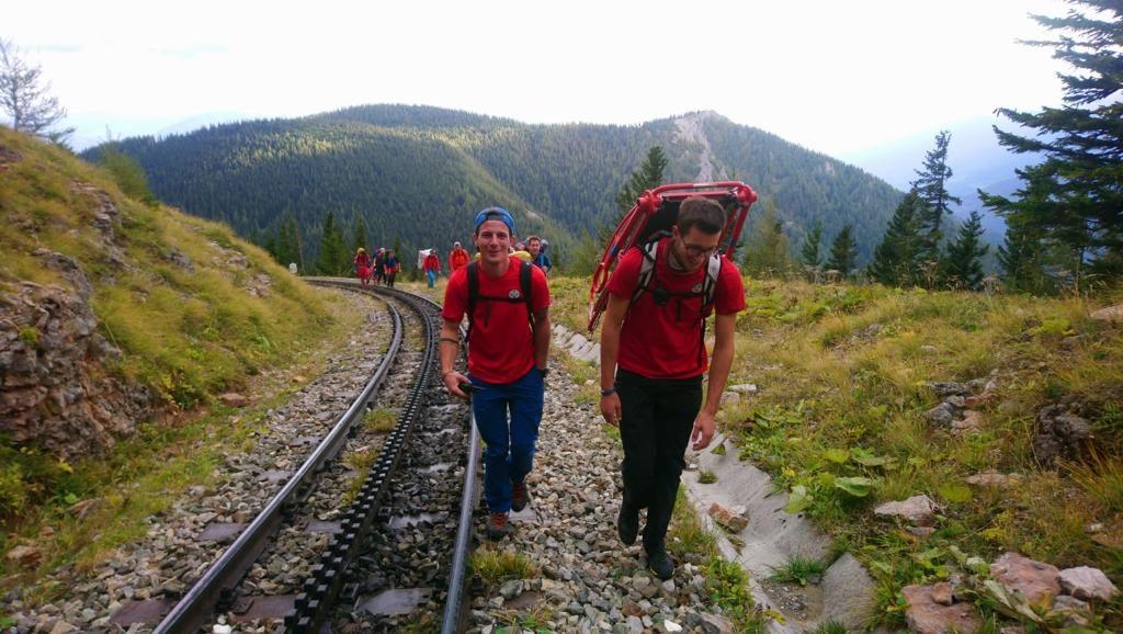 Ausflugsgäste sicher in´s Tal gebracht